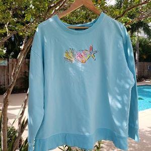 Ladies Fresh Produce sweatshirt size large